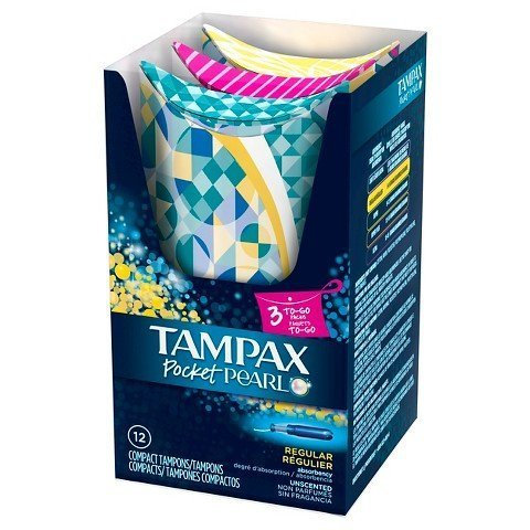 tampax-pocket-pearl-unscented-regular-absorbency-compact-plastic-tampons-12-count-by-tampax