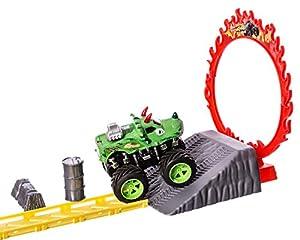 JUINSA Pista Super Track Dinosaurio 27 x 16 x 12 cm 96067.0