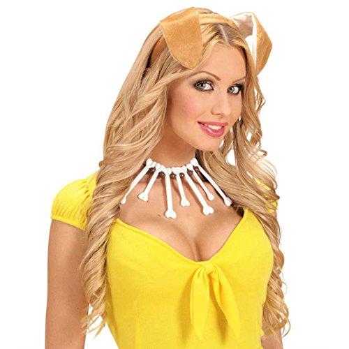 Amakando Hundeohren Haarreifen Hunde Ohren Haarreif Hund Kopfbügel Dog Plüschohren Hundekostüm Kopfbedeckung Fasching Tierkostüm Party Tierohren Tier Mottoparty Accessoire Karneval Kostüm Zubehör