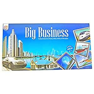 Ratna's  Big Business Monopoly Board Game with Plastic Money, Multi Color