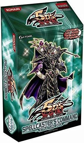 YuGiOh 5D's Spellcaster's Command 1st Edition Structure Deck