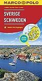 MARCO POLO Länderkarte Schweden 1:800 000 (MARCO POLO Länderkarten)