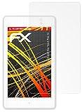 atFolix Schutzfolie kompatibel mit Alcatel One Touch Plus 12 Displayschutzfolie, HD-Entspiegelung FX Folie (2X)