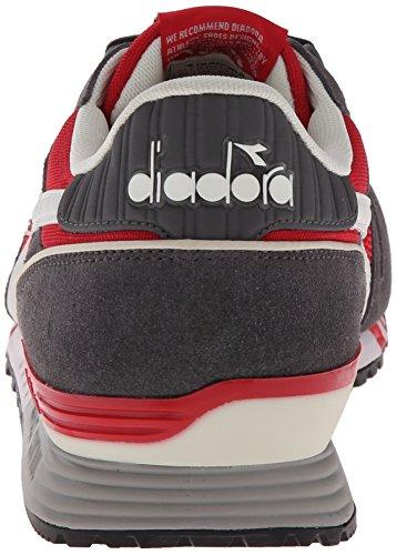Diadora Titan Ii - Pompes à plateforme plate mixte adulte Roccoc Red-Pewter
