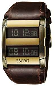 Esprit Herren-Armbanduhr IL SUPERIOR BROWN ES101231704