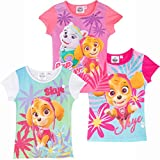 Best Paw Paw Shirts - Paw Patrol Girls T-Shirt Short Sleeve Tops 100% Review