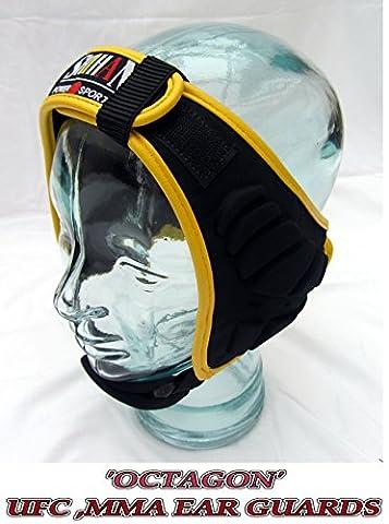 Octagon BJJ casque antibruit, casque de protection MMA lutte, Catch casque antibruit Shihan Power-sports, rugby, Judo, lutte, Forces spéciales d'entraînement Budo Tête d'entraînement protection auditive jiu-jitsu (BJJ), Soumission et de lutte MMA