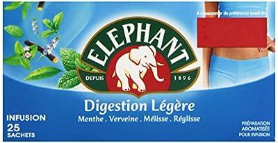 Elephant Infusion Digestion Légère 25 Sachets 41 g