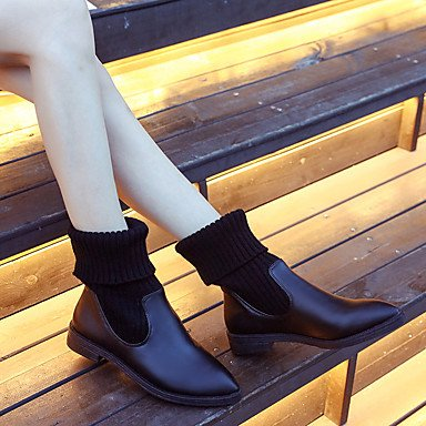 Rtry Talons Femmes ChaussureAutomne Hiver Confort Bottes Talons Rtry Plats a0966a