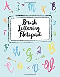 Brush Lettering Notepad: & Calligraphy Notepad Over 120 Dash & Lined Practice Pages, ...