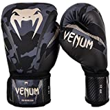 Best Boxing Gloves 16ozs - Venum Men's Impact Boxing Gloves, Dark Camo/Sand, 16oz Review