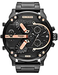 Diesel Men's DZ7312 Mr Daddy 2.0 Black Ip Watch