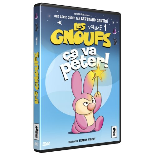 Les Gnoufs, vol. 1 : ça va péter ! / réalisateur de film Franck Vibert, compositeur Bertrand Santini | Vibert, Franck. Monteur
