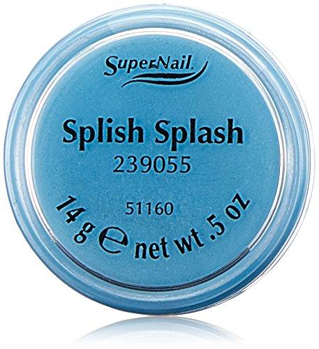 Supernail Poudre Acrylique Michelle Manolov Motif Splish splash
