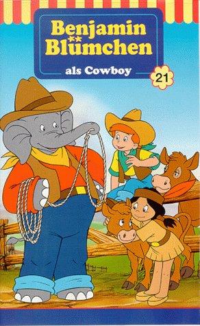 Preisvergleich Produktbild Benjamin Blümchen als Cowboy [VHS]