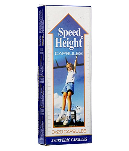 Speed Ayurvedic Height Supplement -60 Capsules