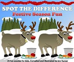 Spot the difference - Festive Season Fun (English Edition) par [Turner, Jen]