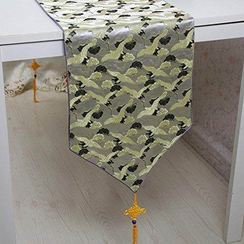 MFFACAI Tisch Läufer Bett Schal Tisch Läufer Flagge Couchtisch Tischdecke, 33 * 150cm -