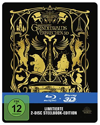 Phantastische Tierwesen: Grindelwalds Verbrechen 3D + 2D Steelbook (exklusiv bei amazon.de) [3D Blu-ray]