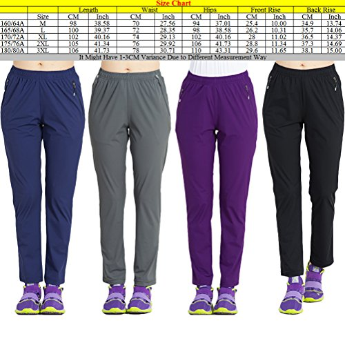 Zhuhaitf High Quality Womens Sports Stretch Quick Climbing Pants Moisture Perspiration Breathable Fast Pants Outdoor blue