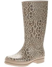 Crocs Wellie Leopard Print Boot W, Bottes femme