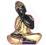 King International Golden and Black Sleeping Buddha Set Of 1