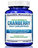 Cranberry Pills - PACRAN Extract - Triple Strength Equal to 25,200 mg Cranberries
