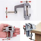 8,9cm Aluminium klein Juweliere Hobby Klemme auf Tisch Bench Vise Mini-Werkzeug Schraubstock