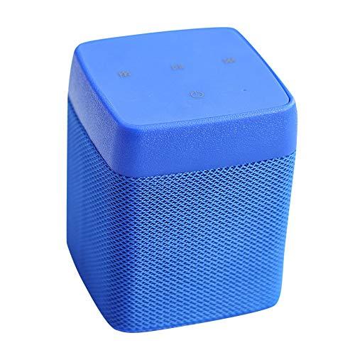 CAOQAO Enceinte Bluetooth Portable Speaker,Couleur sans Fil ImperméAble Haut-Parleur Audio StéRéO Basse ÉTanche Soundbox,Compatible avec IPhone, Windows, Ou Android,Bleu