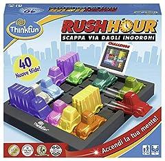 Idea Regalo - Think Fun - Rush Hour Gioco di Logica, Multicolore, 76300  [Versione Italiana]