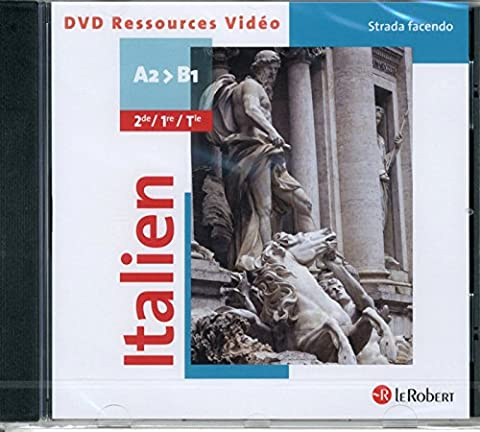Italien Strada Facendo A2>B1 2e/Première/Term Lv2-Lv3 (le Robert) - 1 DVD Video - 2014