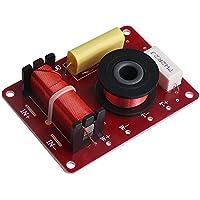 BQLZR 130W - Sistema de altavoces de 2 vías (filtros de audio, divisor de frecuencia, accesorio decorativo para coche)