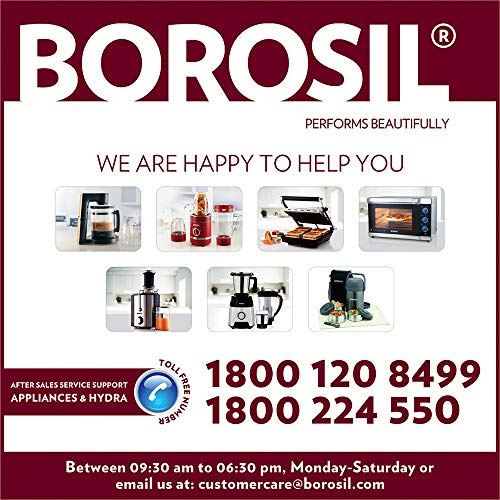 Borosil Chef Delite BCH20DBB21 300-Watt Chopper (Black)