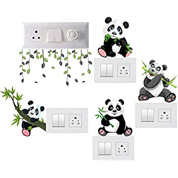 Buy Happy Walls Cute Animal Switch Board Penal Decor Wall Sticker