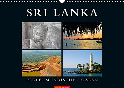 SRI LANKA (Wandkalender 2019 DIN A3 quer): Perle im indischen Ozean (Monatskalender, 14 Seiten ) (CALVENDO Orte)