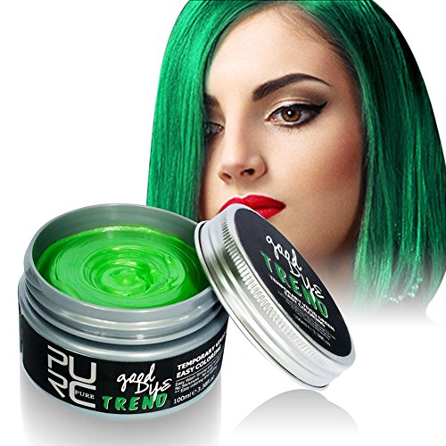 Blaward Haarfärbemittel Wachs Temporäre einmalige Formung Haarfarbe Creme