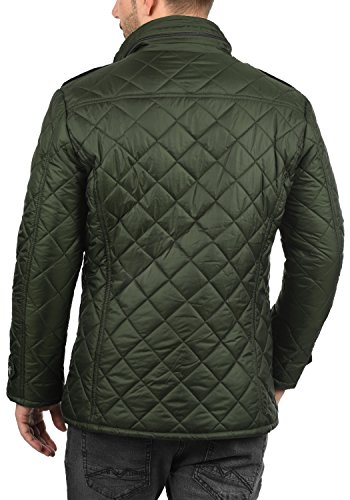 !Solid Safi Herren Steppjacke Übergangsjacke Jacke Mit Stehkragen, Größe:S, Farbe:Rosin (3400) - 3
