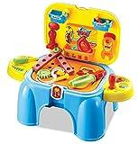 Sgabelli per bambini che contengono il necessario per giocare al dottore, per cucinare, gli attrezzi dell'officina e per truccarsi Tools Play Set Taglia unica