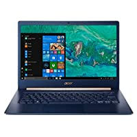 "Acer Swift 5 SF514-53T-700U Ultrabook Laptop, Intel Core i7-8565U, 14"" FHD IPS Multi-touch LCD, 512GB SSD, 16GB RAM, Intel UHD, Win10, Eng-Ara KB, Blue"
