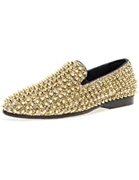 Onlineshoe Chaussures En Cuir De Luxe Hommes Glissent Mules Bordées De Semelles Dures Utilisées Brun - Brun, Uk9 - Eu43 - Us10 Brun