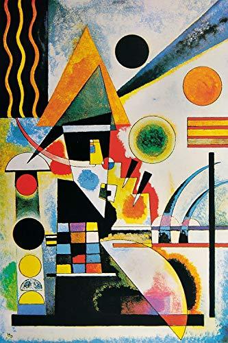 1art1 119059 Wassily Kandinsky - Balancement, 1925 XXL Poster 120 x 80 cm