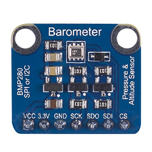 Price comparison product image SunFounder High Precision BMP280 Barometric Pressure Temperature Altitude Sensor Module Support I2C or SPI for Arduino and Raspberry Pi