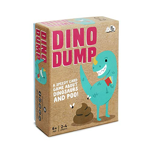 Big Potato Dino Dump: Il Dinosauro Travel Game per Bambini Che Amano Poo.