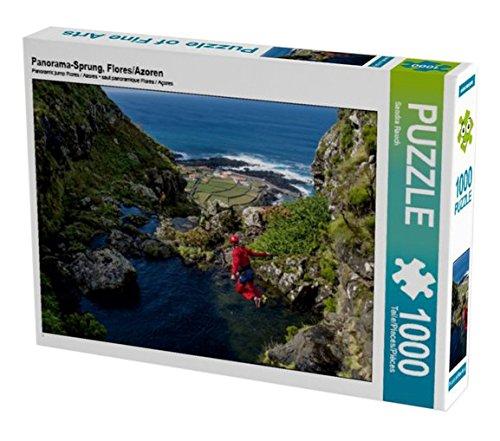 Preisvergleich Produktbild Panorama-Sprung,  Flores / Azoren 1000 Teile Puzzle Quer
