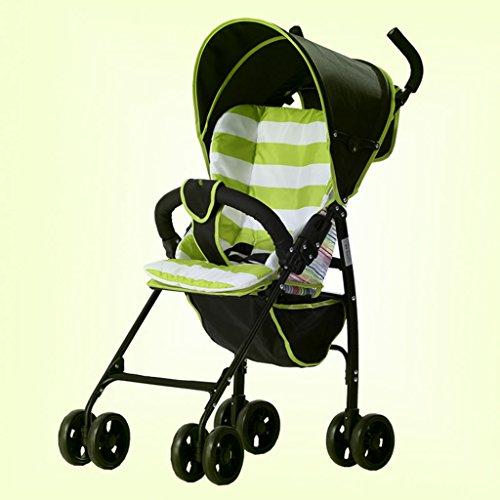 &Klappwagen Faltbare Kinderwagen Regenschirm Auto Baby Cart Lite leichte Taschenschirm Auto (Farbe : 1#)