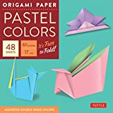 Origami Paper Pastel: Perfect for Small Projects or the Beginner Folder