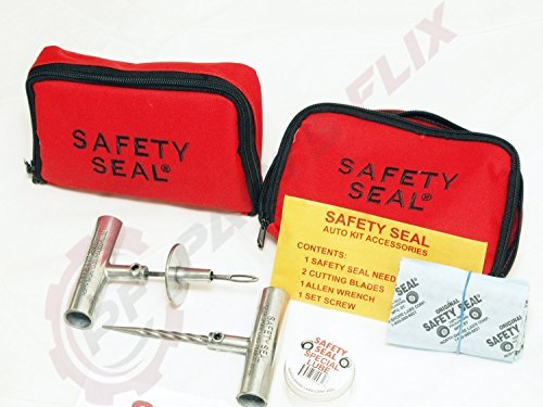 Safety Seal Auto Light Truck Kit Tire Repair Kit 30 Repairs in Storable Bag by Safety Seal
