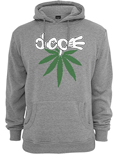 Mister Tee Herren Kapuzenpullover Switch Dope Hoody, Heather Grey, S, MT300-00138-0051