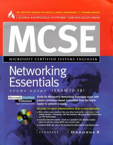 MCSE Networking Essentials (Exam 70-58) (Mcse Study Guide) por Syngress Media  Inc.