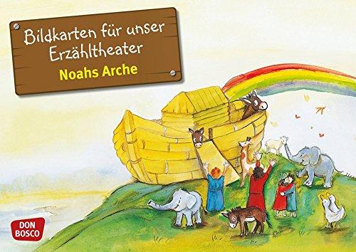 Kamishibai Bildkartenset Noahs Arche - Bildkarten für unser Erzähltheater (Bibelgeschichten für unser Erzähltheater) (Katholische Gebet-buch Für Kinder)
